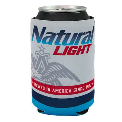 Natural Light Brewed In America Rowdy Gentleman Can Cooler